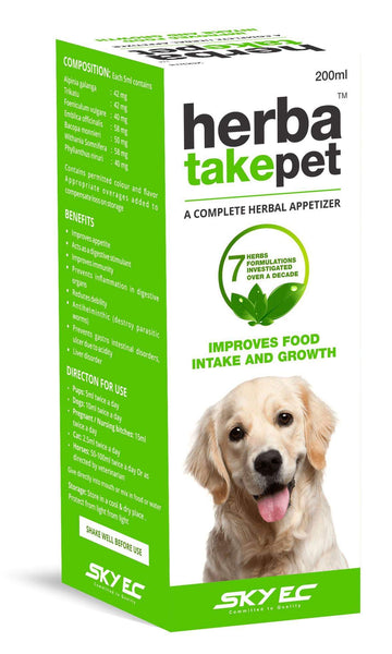 Herbatakepet 200ml for cats and dogs - Amanpetshop-