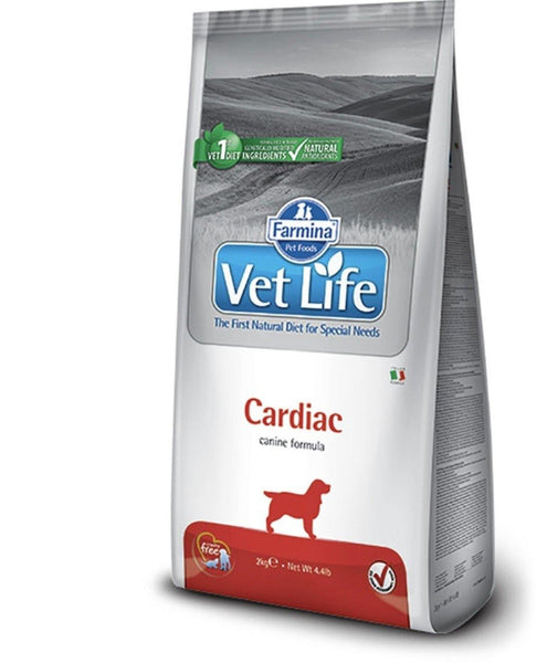 Farmina Vetlife cardiac canine formula dog feed 2kg