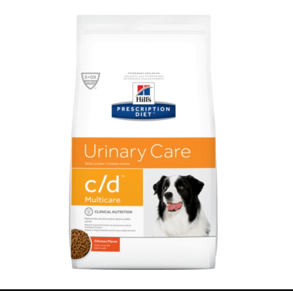 Hills Prescription Diet - Dry Dog Food - Urinary Care c/d Canine 3.96kg