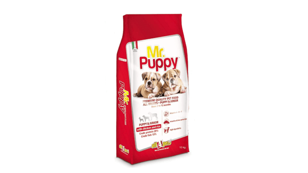 all4pets Mr.Puppy Chicken and Rice Dog's Food (10 Kg) - Amanpetshop-