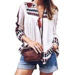 Boho Chiffon Blouse-Pretty Shining People