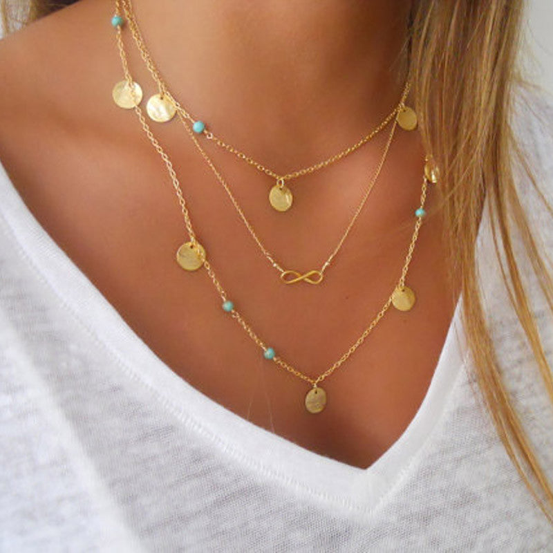 Multilayer Necklace-Pretty Shining People