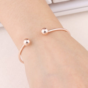 Simple Cuff Bracelet-Pretty Shining People