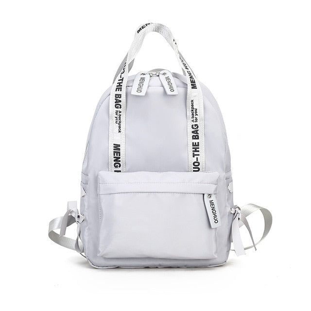 Hipster Backpack-Pretty Shining People-Gray-19 Inch-Pretty Shining People