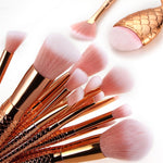 16PCS Make Up Brushes-Pretty Shining People