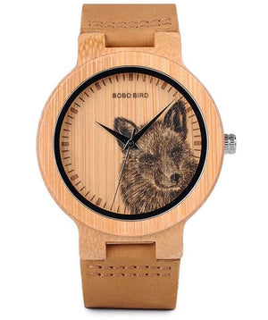 Bamboo Wood Watch-Pretty Shining People-P20-3wolf-Pretty Shining People