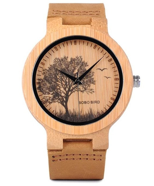 Bamboo Wood Watch-Pretty Shining People-P20-4tree-Pretty Shining People