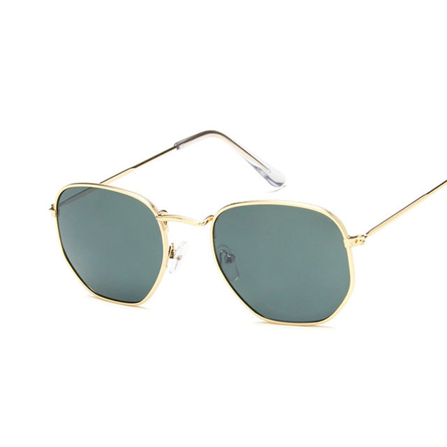 Vintage Square Sunglasses-Pretty Shining People
