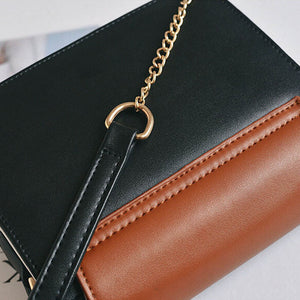 Handbag With Leather Chain-Pretty Shining People