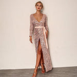 Sequin Party Dress-Pretty Shining People