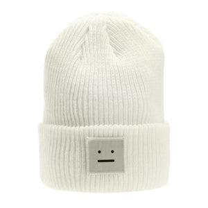 Knitted Robot Beanie-Pretty Shining People