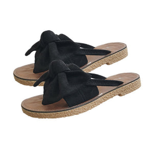 Bowknot Sandals-Pretty Shining People