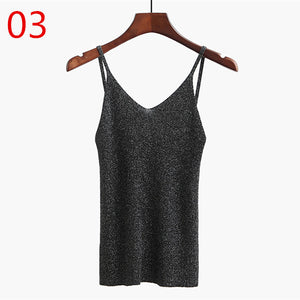 Knitted Tank Top-Pretty Shining People-03-One Size-Pretty Shining People