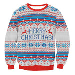 Retro Christmas Sweater-Pretty Shining People
