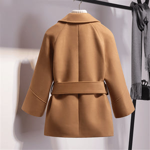 Short Woolen Coat-Pretty Shining People-Pretty Shining People