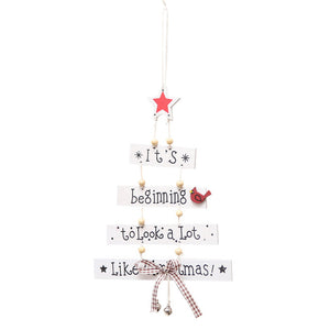 Hanging Christmas Tree-Pretty Shining People