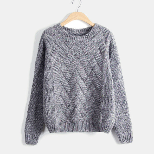 Knitted Twisted Jumper-Pretty Shining People
