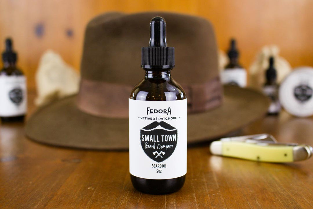Fedora Beard Oil
