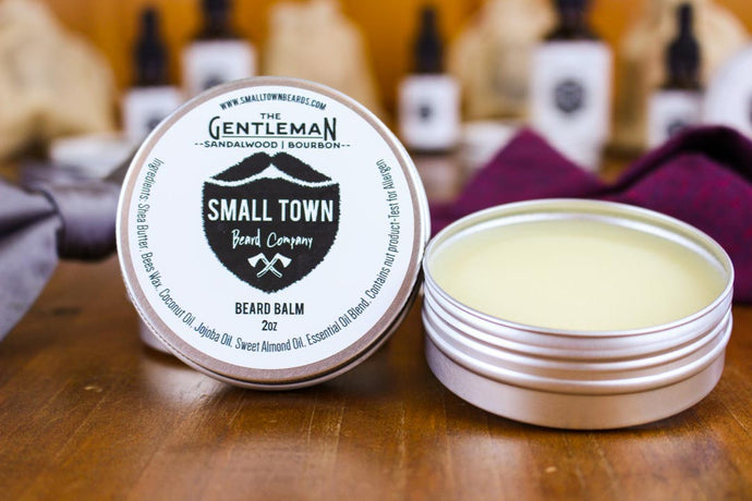 Gentleman Beard Balm by Small Town Beard Company in Texas