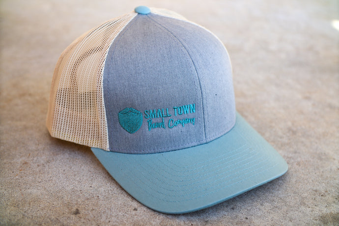 STBC Cap - Blue, Gray and Beige