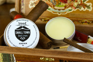 Stogie Beard Balm by Small Town Beard Company in Texas