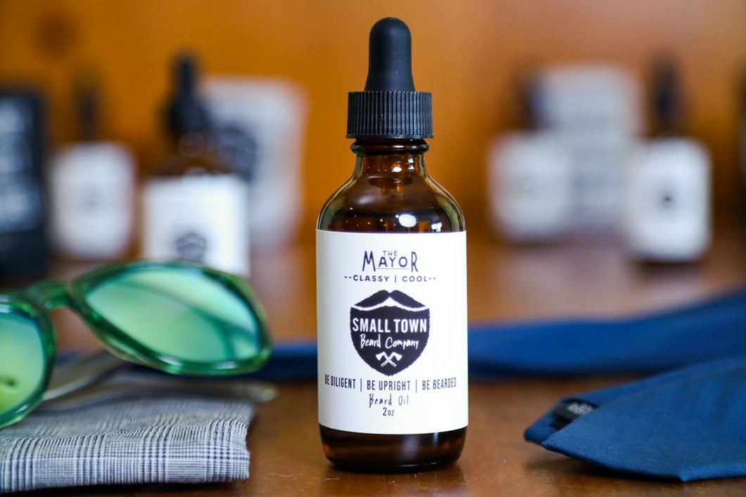 The Mayor Beard Oil