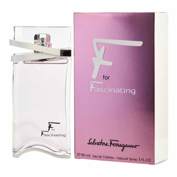 F for Fascinating by Salvatore Ferragamo for Women 3.0 oz EDP Spray - Perfumes Los Angeles