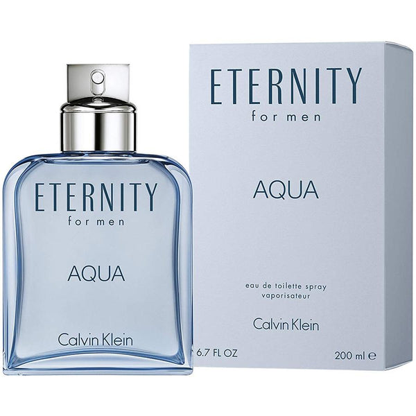 Eternity Aqua by Calvin Klein for Men 6.8 oz EDT Spray - Perfumes Los Angeles