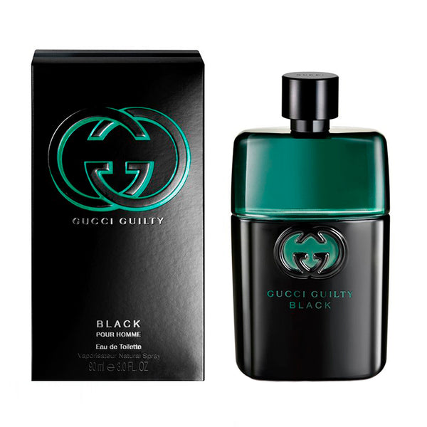 Gucci Guilty Black by Gucci for Men 3.0 oz EDT Spray