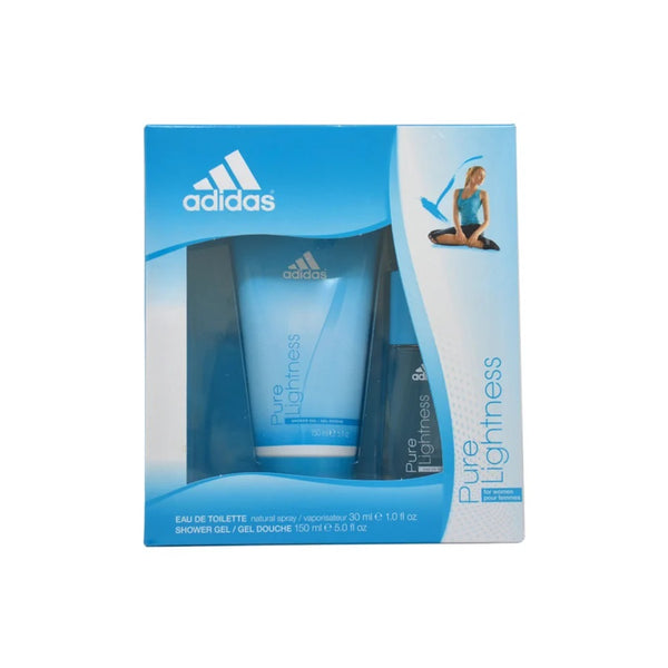 Pure Lightness by Adidas for Women 1.0 oz EDT Gift Set