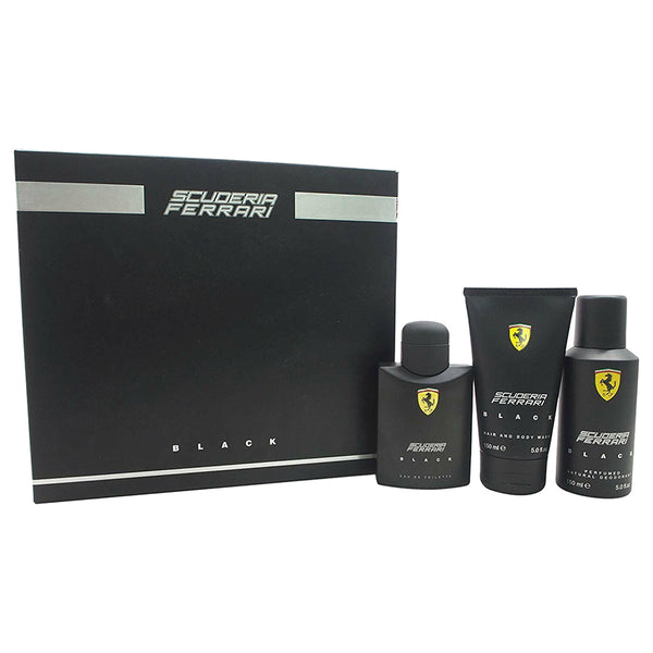Ferrari Black by Ferrari for Men 4.2 oz EDT Gift Set