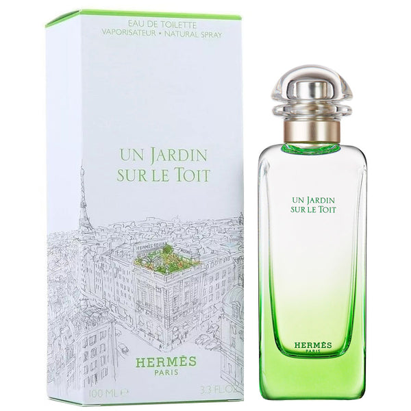 Un Jardin Sur Le Toit by Hermes for Unisex 3.4 oz EDT Spray