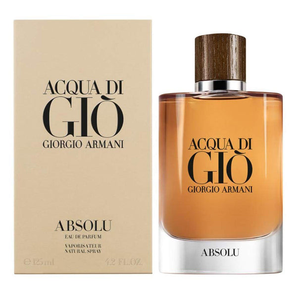 Acqua di Gio Absolu by Giorgio Armani for Men 4.2 oz EDP Spray