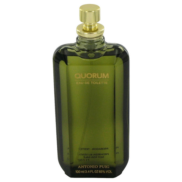 Quorum by Antonio Puig for Men 3.4 oz EDT Spray Tester - Perfumes Los Angeles