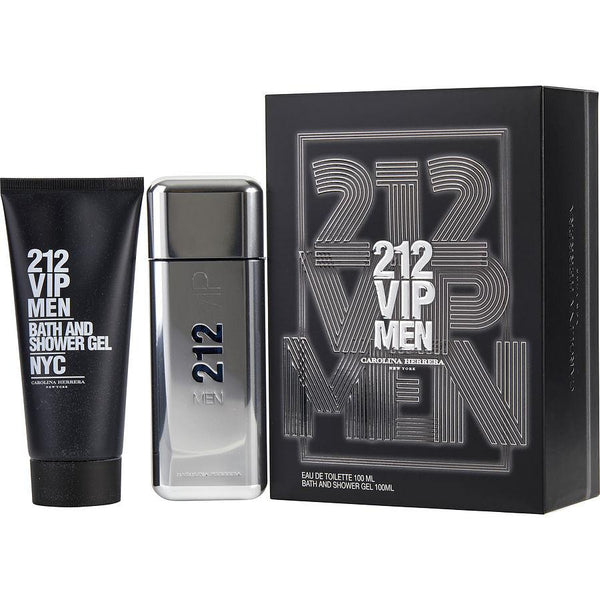 212 VIP Men by Carolina Herrera for Men 3.4 oz EDT Gift Set - Perfumes Los Angeles