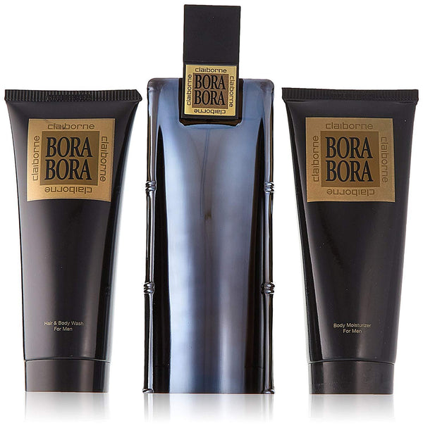 Bora Bora by Liz Claiborne for Men 3.4 oz EDC Gift Set - Perfumes Los Angeles