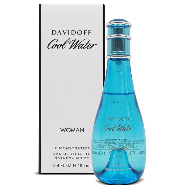 Cool Water by Davidoff for Women 3.4 oz EDT Spray Tester - Perfumes Los Angeles