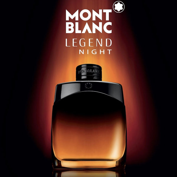 Legend Night by Montblanc for Men 3.4 oz EDP Spray Tester