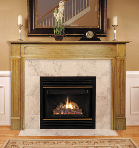 Image of Pearl Mantels 110 Williamsburg Fireplace Mantel - Fireplace Choice