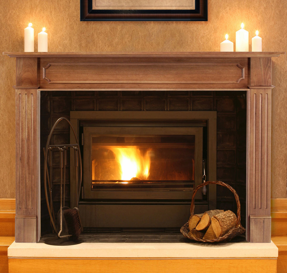 Pearl Mantels 111 Alamo Fireplace Mantel Surround, 50