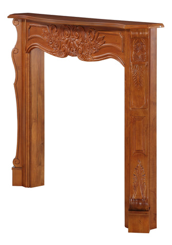 Image of Pearl Mantels 134 Deauville Fireplace Mantel Surround - Fireplace Choice