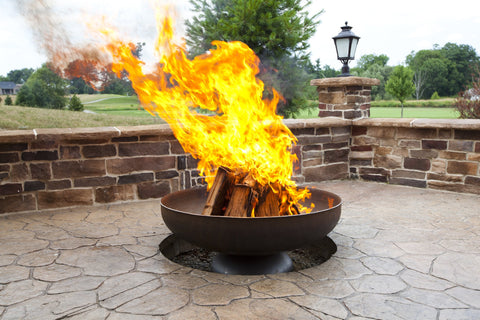Image of Ohio Flame Patriot Wood Burning Fire Pit - Fireplace Choice