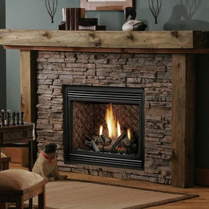 Kingsman HB3624 Zero-Clearance Direct Vent Gas Fireplace - Fireplace Choice