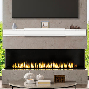 Pearl Mantels Emory 211 Contemporary Adjustable Shelf - Fireplace Choice