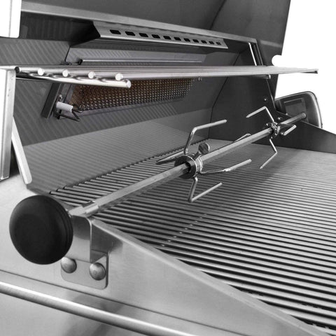 "Image of American Outdoor Grill 24"" T-Series 2-Burner Built-In Gas Grill With Rotisserie - Fireplace Choice"