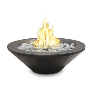 "American Fyre Designs 30"" Cannes Petite Round Cone Fire Bowl - Fireplace Choice"
