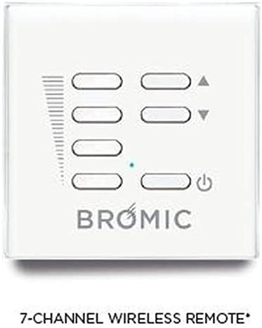 Bromic Heating - BH3130011-1 - Dimmer Switch for Smart-Heat Electric Heaters with Wireless Remote - Fireplace Choice