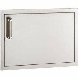 "Fire Magic Premium Flush 20"" Right-Hinged Single Access Door - Horizontal With Soft Close  - 53914SC-R - Fireplace Choice"