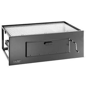 Fire Magic Lift-A-Fire Built-In Large Charcoal Grill - Fireplace Choice