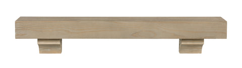 Image of Pearl Mantels 355 Cherokee Mantel Shelf - Fireplace Choice
